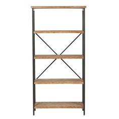 shelves ge rustic wood/metshelf - $??.?? nzd - new zealand | white, Moderne