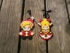 Legend of Zelda Christmas Ornaments - Hylian Christmas is coming! But it's 2013, please follow my other boards guys & girls :)  http://www.pinterest.com/zeldanet/