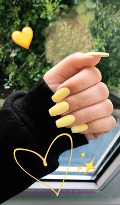 34 Trendy Summer Nails Designs That Are So Perfect for 2019 - Page 21 of 34 - Veguci - 34 Trendy Summer Nails Designs That Are So Perfect for 2019 – Page 21 of 34 – Veguci Summer Nails Bright nails Tropical Nail Nails Designs Acrylic Nails Yellow, Yellow Nail Art, Best Acrylic Nails, Bright Summer Acrylic Nails, Yellow Nails Design, Nail Summer, Acrylic Art, Nail Ideas For Summer, Acrylic Nail Designs For Summer