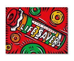 Burton Morris - Life Savers candy pop art