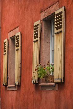 Windows Of Europe   Ladenburg   Germany   Photo By Debbie Karnes