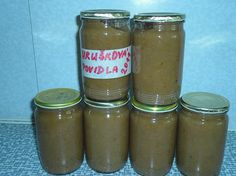 Hrušková povidla pečená v troubě Salsa, Mason Jars, Med, Recipes, Canning Jars, Recipies, Ripped Recipes, Recipe, Salsa Music
