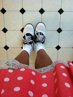 Dots & saddle shoes