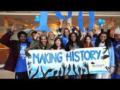 Georgia State University Attempts To Break Guinness World Record, for the most high fives! @GSU_News #GSU #GeorgiaState #ATL #Atlanta #College #MakingHistory #GSU100 #School #CollegeLife