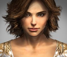 Elika - concept art from Prince of Persia 2008