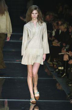 A is for Alberta Ferretti:  Milan Spring 2003.