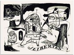 "Doze Green, ""Taking Liberty"" - Jonathan LeVine Gallery"