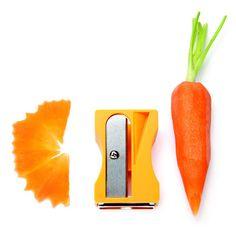 Gemüsespitzer und -schäler Karoto - ist an sich noch kein Food Art, könnte aber dazu führen ...
