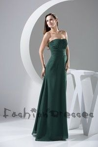 long prom dress women's fashion Dresses chiffon dress party dress green bridesmaid dress for wedding lace up simple cheap Hand made Dresses ...