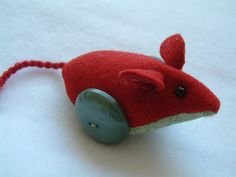 the last three button-wheeled mice ... by RaggyRat, via Flickr