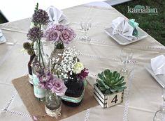 www.kamalion.com.mx - Centros de Mesa / Centerpiece / Vintage / Boda / Wedding / Decor