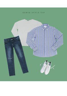 [[DT.05] 워싱 무지 루즈 티셔츠] 남자코디 남자코디샷 남성 데이릴룩 게리오 Korean Fashion Men, Mens Fashion, Bell Sleeves, Bell Sleeve Top, Mens Style Guide, Daily Look, Style Guides, Tops, Women