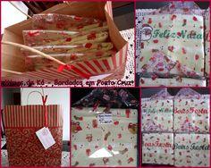 Embalagens e Sacola para presentear no Natal