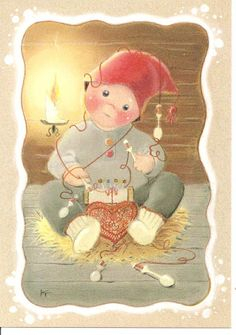 Kaarina Toivanen (my collection) - pioni pionia - Picasa Web Albums Christmas Clipart, Christmas Art, Vintage Pictures, Cute Pictures, Funny Drawings, Christmas Time Is Here, Winter Cards, Scandinavian Christmas, Photo Postcards