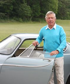 Pelle Petterson. Yacht designer and designer of the Volvo P1800.