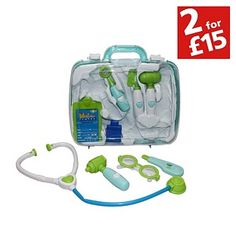 Buy Chad Valley Doctors Set at Argos.co.uk - Your Online Shop for Toys under 10 pounds, Children's fancy dress accessory sets, 2 for 15 pounds on Toys. LIL