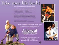 Ad Design Examples - Advanced Hemorrhoid Care Center Image Marketing Pros 615-200-7717 Nashville 865-291-0373 Knoxville