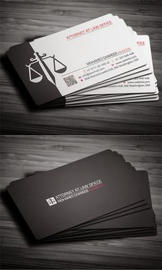 Modern business card template by emilys art boutique on must see lawyer business card designs reheart Choice Image