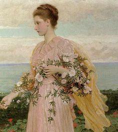 British Paintings: Charles Edward Perugini - Ramparts, Walmer Castle