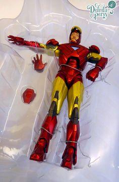 Iron-Man  #Marvel #ActionFigure #DeliDaPersy #IronMan
