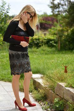 DIY Lace Skirt Burda 5/2016, Modell 120