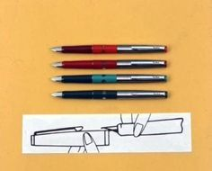 Geha Füller - compulsory school equipment. I loved writing with an ink pen, and we all collected the little balls from the refill cartridges.