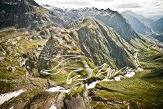 Through the Swiss Alps with a Lamborghini Miura and a Porsche 906 Sleeping Beauty 2, European Road Trip, Beautiful Roads, Winding Road, Swiss Alps, City Streets, My Ride, Places To Travel, Travel Stuff