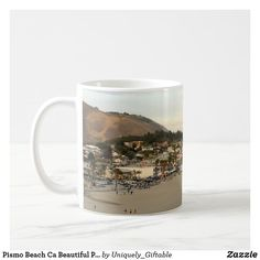 Pismo Beach Ca Beautiful Photo Coffee Mug