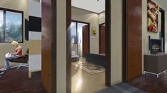 MARVELLA CITY 3 BHK. Floor plan of 3bhk offers you Three bed rooms and one kitchen and one living room.