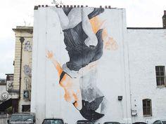 """Reign"" by Cyrcle , Leonard Street, EC2A.   26 Stunning Street Art Murals In East London"