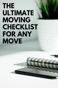 Are you one of the 35 million Americans who move each year? We have the ultimate moving checklist to help you prepare for this transition. Apartment Moving Checklist, Apartment Guide, Moving Day, Moving Tips, Moving Checklist Printable, Moving Across Country, Apartment Needs, Change Your Address, Old Apartments