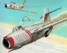 Mig-15 Korean War: \'Mig Alley\' (Don Greer)