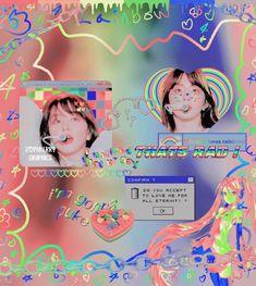 Rainbow Aesthetic, Aesthetic Themes, Kpop Aesthetic, Aesthetic Backgrounds, Aesthetic Iphone Wallpaper, Kpop Profiles, Love Rainbow, Edit Icon, Retro Futurism