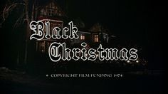 The Grandmother of All Slasher Films Black Christmas Reminds Us That Horror Movies Can Be Lady Positive Black Christmas, A Christmas Story, Christmas Movies, Christmas Vacation, Movie Of The Week, Classic Horror Movies, Horror Films, Mary Sue, Marvel Films