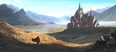 ArtStation - Monestary, Frido Nahon