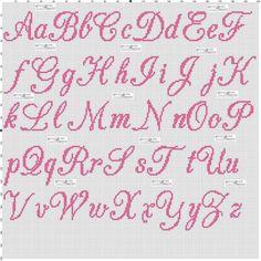 x - Cross Stitch Cross Stitch Letter Patterns, Monogram Cross Stitch, Cross Stitch Baby, Cross Stitch Designs, Stitch Patterns, Crochet Alphabet, Crochet Letters, Embroidery Alphabet, Embroidery Patterns
