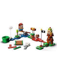 LEGO Super Mario Adventures With Mario Starter Course 71360 Christmas Toys, Christmas 2019, Iron Games, Egg Game, Lego Super Mario, Shop Lego, Exploding Kittens, Magic Squares, Game Workshop