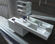 Badkamer Onderkast Badkamerlamp : Beste afbeeldingen van wastafels badkamer ideeën voorbeelden