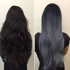 Happy #TransformationTuesday! We're loving the smoky vibes of this #hairmakeover by @lisalovesbalayage!