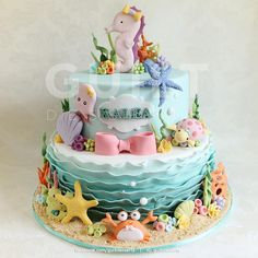 Under The Sea - Cake by guiltdesserts