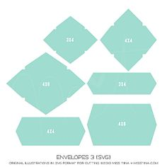 Envelopes 3 {SVG}