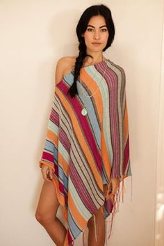Goddis Poncho- Saint Lucia Perfect for cool Cali nights