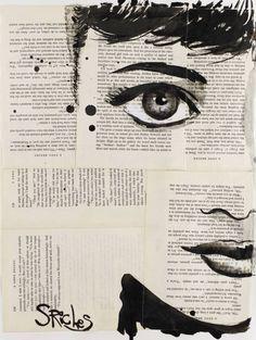 """Saatchi Art Artist: Sara Riches; Ink 2013 Drawing """"Audrey"""""""