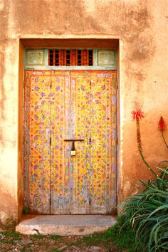 ANCIENT MOROCCAN DOOR  photo print  floral by HEARTtoHEARTart, €7.50