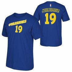 Golden State Warriors adidas 2015 Leandro Barbosa Social Media Tee - Blue