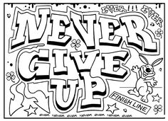 Inspirational Quotes Coloring Pages For Adults http://procoloring.com/inspirational-coloring-pages/