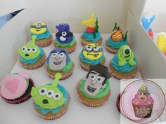 Disney themed cupcakes @ https://www.facebook.com/pages/Little-Krush-Cupcakes-NZ/485728288124195