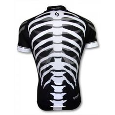 Cycling Short Jersey-Skeleton - Outbackbikers.com