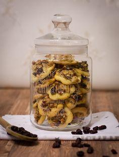 Mandel Cranberry Florentiner Plätzchen im Keksglas // #Rezept auf meinem #Blog: ofengefluester.de