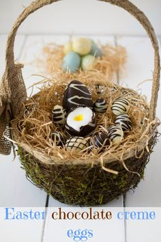 Easter chocolate cre